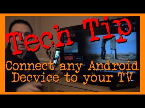 Tech Tip: How To Connect Your Android to Your TV without Streaming WiFi