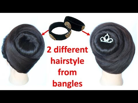 two juda hairstyle with trick || juda hairstyle || hairstyle || easy hairstyles || cute hairstyles