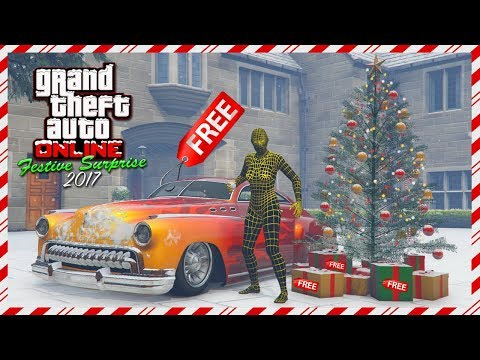 GTA Online Festive Surprise 2017 DLC - FREE Vehicle, NEW Super Car, Christmas Gifts Details & MORE!