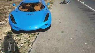 #x202b;اتسعراض سياره كونقسيق ريجيرا Gta V Car Review 2015 Koenigsegg Regera#x202c;lrm;