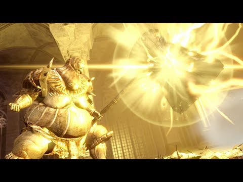 Dark Souls: Remastered - The Remastered Ornstein And Smough (Super Smough) - SOLO, NO DAMAGE