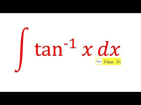 Advanced Calculus 1 (AB): Integral of Arctan(x) aka Tan Inverse - {Integration by Parts}