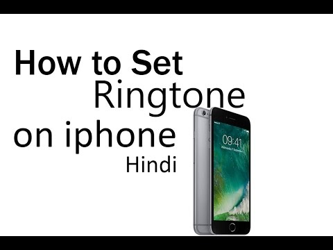 How to set ringtone on any iphone very easy hindi