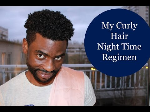 Men Hair Care : Night Time Hair Routine - How I Sleep At Night
