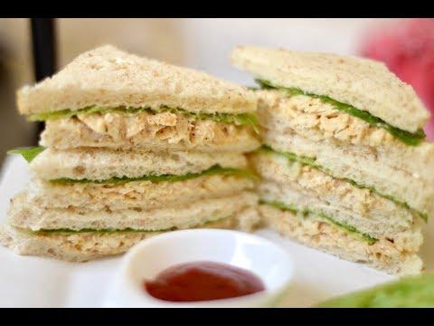 Chicken Mayonnaise Sandwich Recipe | Easy & Quick Breakfast Sandwich