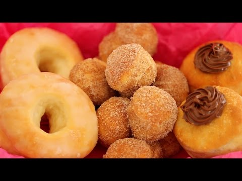 Homemade Donuts: Baked Better than Fried? - Gemma's Bigger Bolder Baking Ep 32