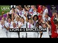 UWCL 2019 Final Highlights Lyon 4 1 Barcelona