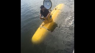 KR350 Personal Submarine (Serenity) first Launch