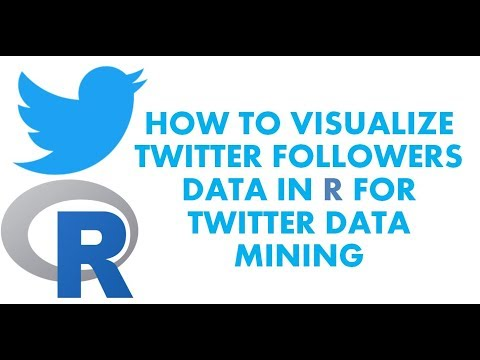 Text Analytics with R | How to Visualize Twitter Followers using twitterMap | Twitter Data Mining