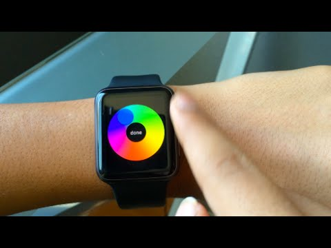 How To Get Custom Colors For Digital Touch on Apple Watch!