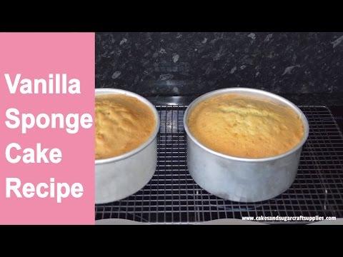 HOW TO BAKE A CAKE-: Easy vanilla sponge cake recipe by Busi Christian-Iwuagwu