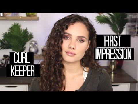 Curl Keeper First Impression | Wash Day + Second Day