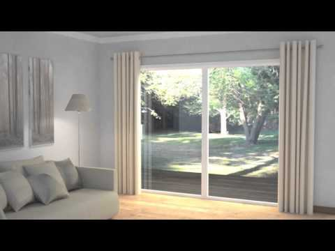 How to Dress Windows | Multiple Windows with Curtains