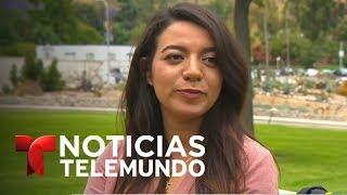 Singular decorado para las ceremonias de graduación universitaria   Noticiero   Noticias Telemundo