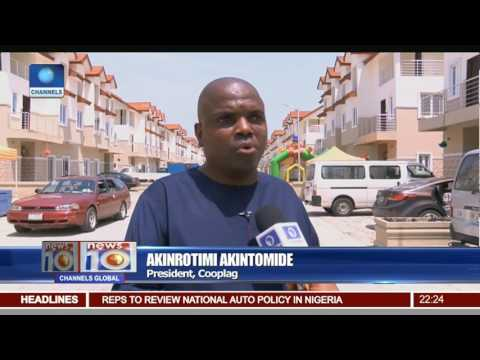 News@10: FG Commissions 100 Housing Units In Imo State 05/03/17 Pt 2