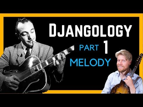 Jazz Mandolin Lesson - Djangology by Reinhardt/Grappelli - Melody (Part 1)
