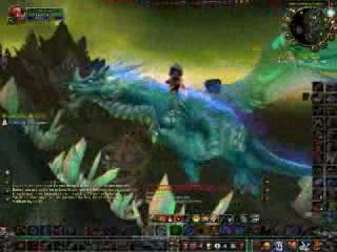 WoW - Getting the Nether Drake mount at Netherwing Ledge