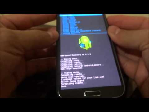 Galaxy S4 GT I9500 Hacer FULL WIPES a tu android por CWM recovery 6.0.3.2 -cambio de ROM-