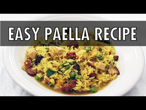 Easiest Ever Paella - 7-Day Cooking Challenge