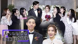 Jung Ah (After School) and Chang Yeong Get Married~ [E-news Exclusive Ep 65]