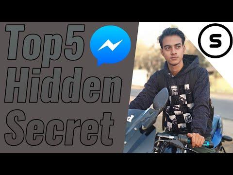5 Hidden Secret of Facebook Messenger.