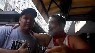 Capitão Léo, E Seu Amigo Manuel Da Gaviões Da Fiel,  Assinantes Do Nosso Canal. Rio, 27/03/19