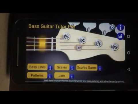 Bass Guitar Tutor Free / Pro App