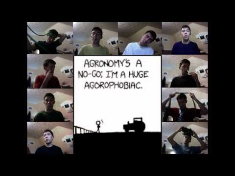 Every Major's Terrible - xkcd/Xave - 10 Parts a Cappella