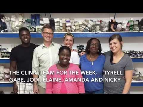 Jamaica pediatric orthotic clinic  Nov 2015
