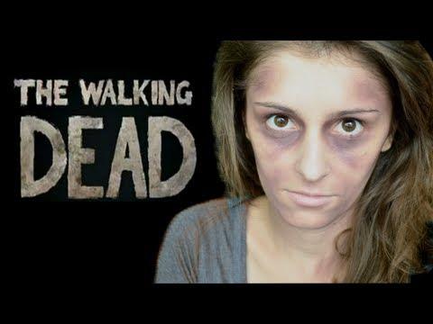 Halloween: The Walking Dead inspired Zombie Makeup Tutorial
