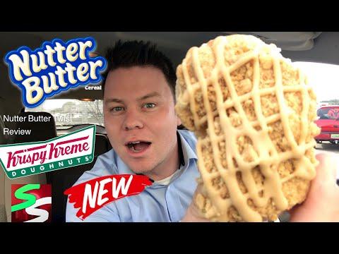 Krispy Kreme Nutter Butter Twist Donut Review