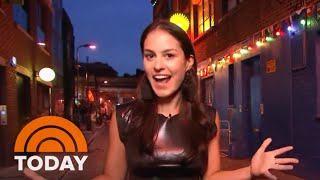 """'Donnadorable' Explores London Neighborhood Shoreditch With The Cast Of """"Mamma Mia!"""