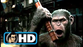 Rise of the Planet of the Apes (2011) Movie Clip - Zoo Escape |FULL HD| Andy Serkis