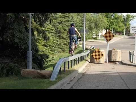 Urban skinny on mountain bike