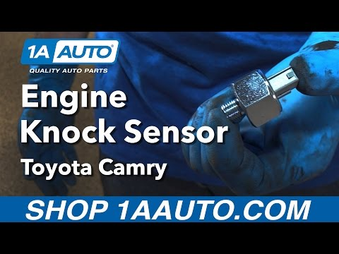 How to Install Replace Engine Knock Sensor 1992-01 Toyota Camry Buy Quality Auto Parts at 1AAuto.com