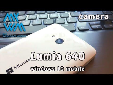 Lumia 640 Windows 10 Camera app