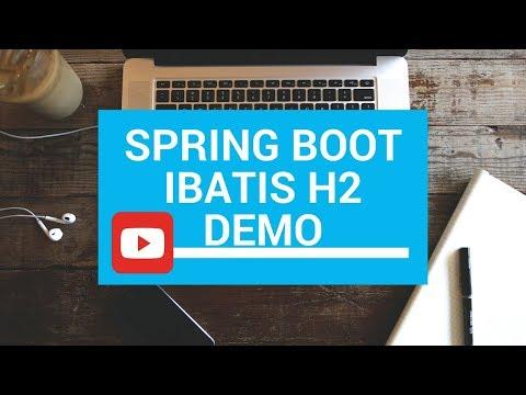 SPRING BOOT IBATIS H2 DEMO