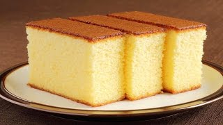Sponge Cake Without Oven Basic Plain Soft Sponge Cake W Eng Subtitles