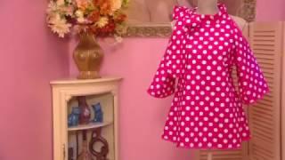 Как сшить блузку из ситца   Ольга Никишичева