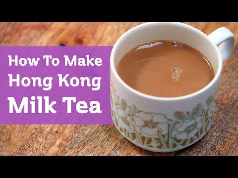 How to Make Hong Kong Milk Tea