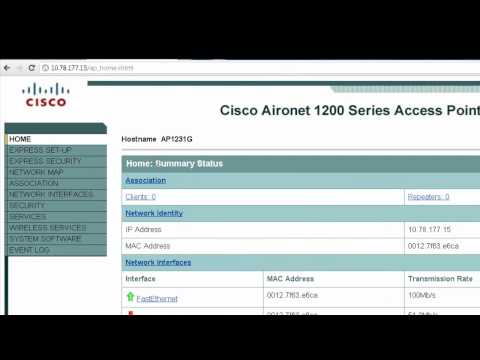 Cisco Basic Wireless LAN (WLAN) connection with Cisco Aironet Access Point (AP) - Vinay Sharma