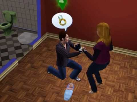Sims 3-Getting Engaged :D!