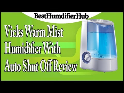 Vicks Warm Mist Humidifier with Auto Shut Off Review