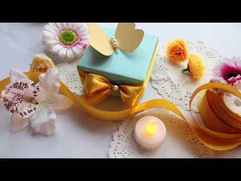 HOW TO MAKE EASY CHEAP WEDDING FAVOR- DIY IDEAS