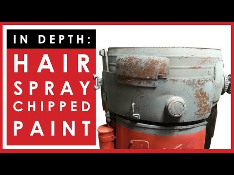 Painting and weathering: in depth hairspray chipping tutorial