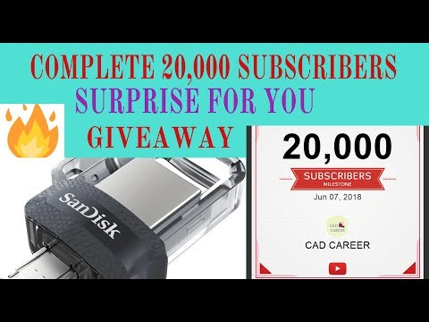 usb otg pendrive 32 gb GIVEAWAY 🔥| special gift for you | 20,000 subscribers complete | CAD CAREER