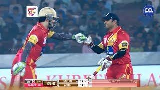 Sachin And Akhil Akkineni Rocking The Stadium