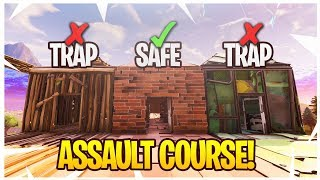 Fortnite ASSAULT COURSE RACE Minigame! - Fortnite Playground Custom Minigames #2!