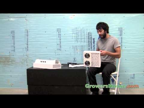 LumiGrow Pro Series LED Grow Lights 650 & 325 Unboxing Review & PAR Test