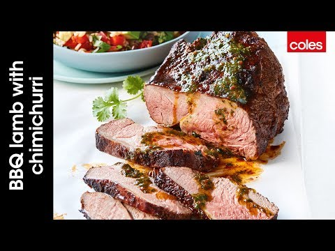 How to make easy BBQ lamb with chimichurri